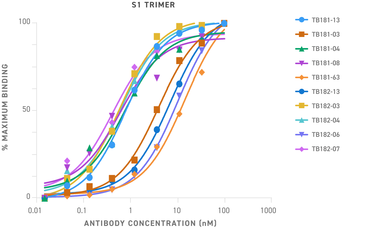 S1 Trimer Binding Curve