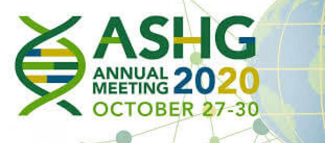 ASHG Annual Meeting 2020