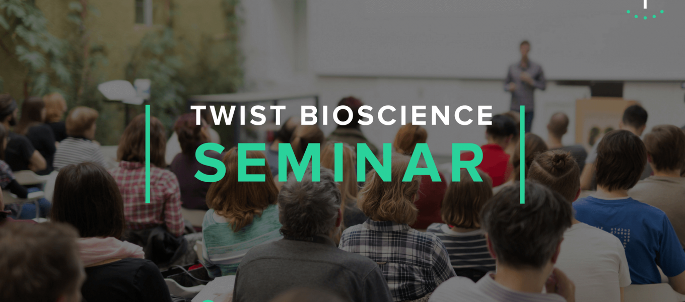 Twist Bioscience Seminar Paris