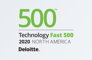 #60 on the list of Fast 500 Technology Companies of 2020